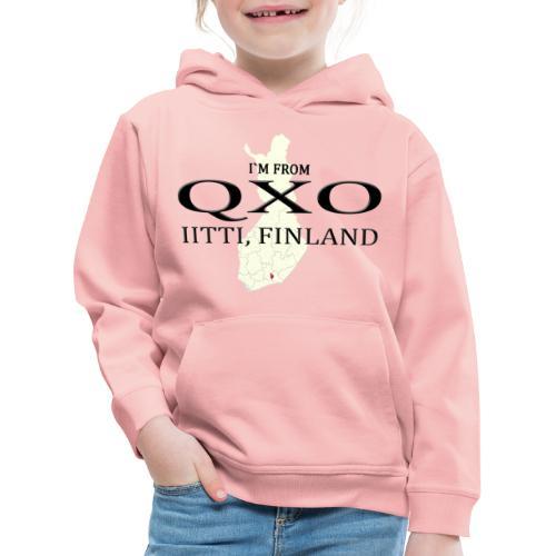 QXO - Lasten premium huppari