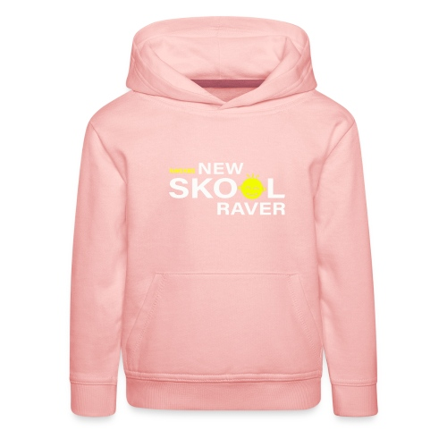New Skool Raver - Kids' Premium Hoodie
