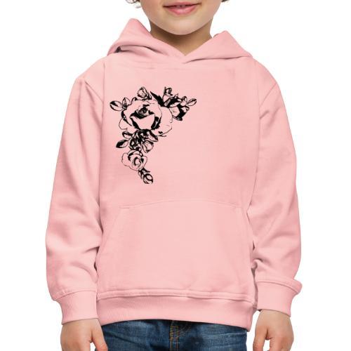 Flowers - Pull à capuche Premium Enfant