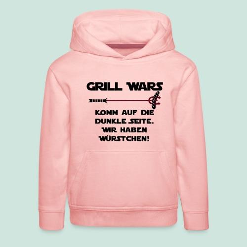 Grill wars komm auf die die dunkle Seite - Kinder Premium Hoodie