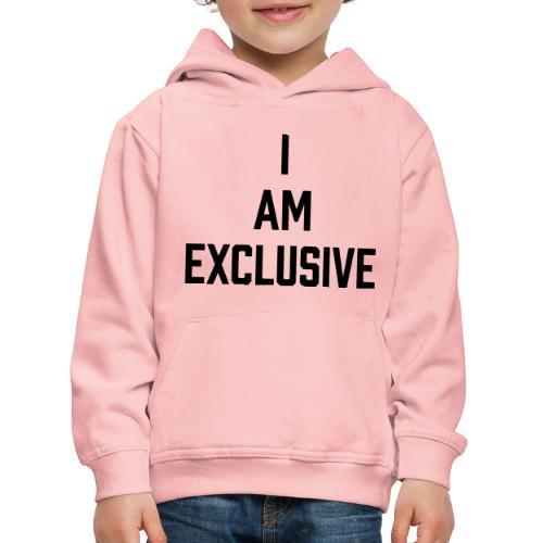 I am Exclusive - Kinder Premium Hoodie