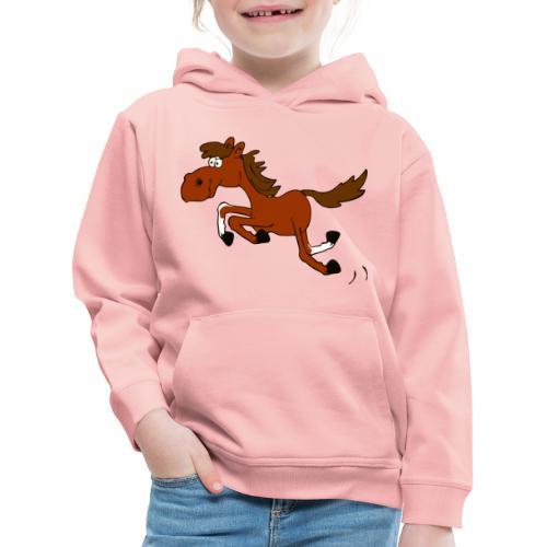 Springpferd - Kinder Premium Hoodie