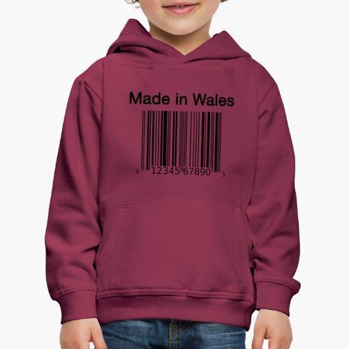 Made in Wales - Kids' Premium Hoodie