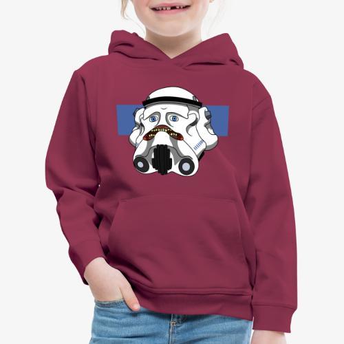 The Look of Concern - Kids' Premium Hoodie