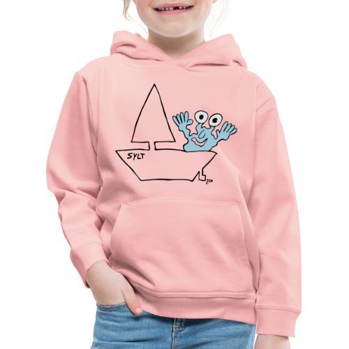 Segelmonster Sylt - Kinder Premium Hoodie
