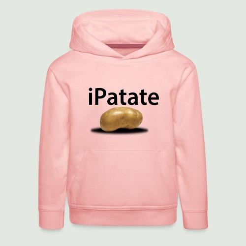 iPatate - Pull à capuche Premium Enfant