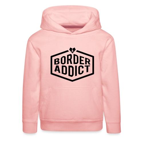 Border Addict - Pull à capuche Premium Enfant