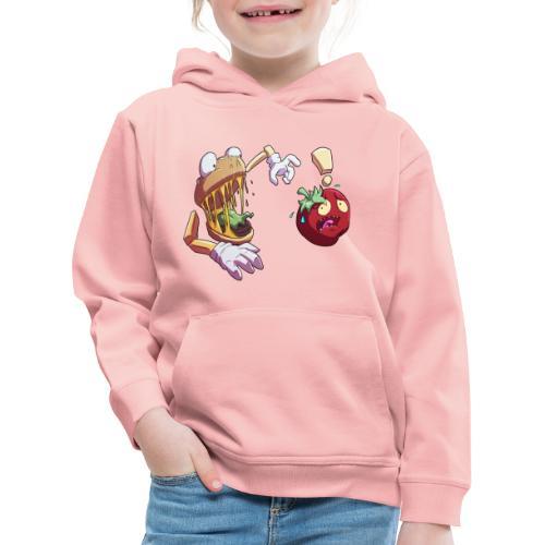Tomato Chase - Twitch Back - Premium-Luvtröja barn