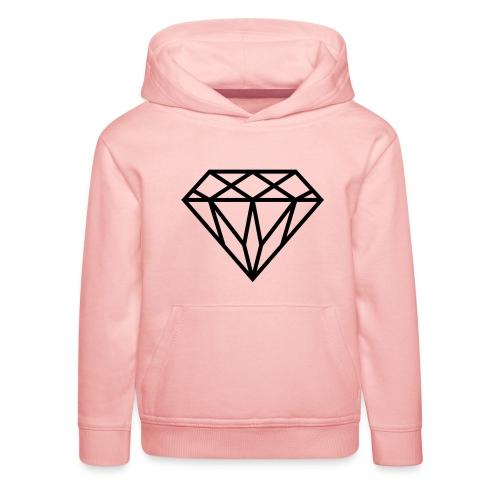 Diamond Graphic // Diamant Grafik - Kinder Premium Hoodie