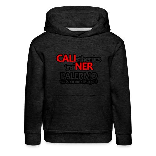 Caliner Palermo T-shirt - Felpa con cappuccio Premium per bambini