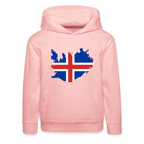 Iceland - Kinderen trui Premium met capuchon