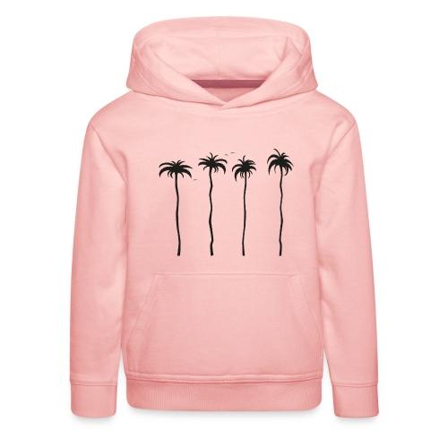 tropische Palmen - Kinder Premium Hoodie