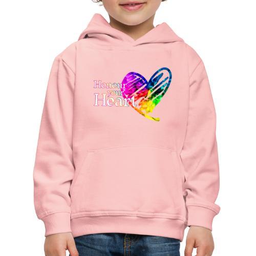 Honour Your Heart 2021 - Kids' Premium Hoodie