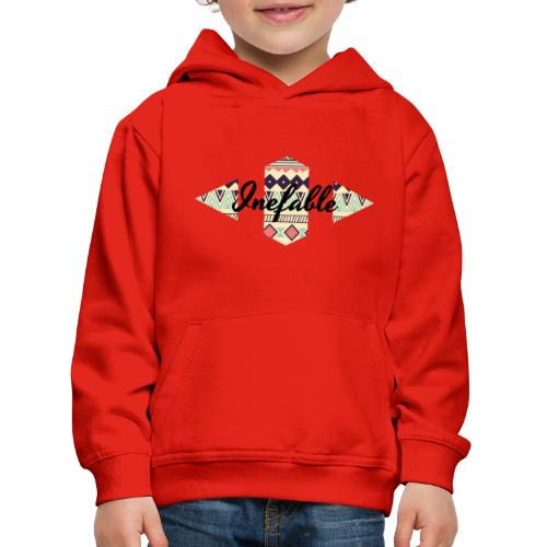 Tribal. - Sudadera con capucha premium niño