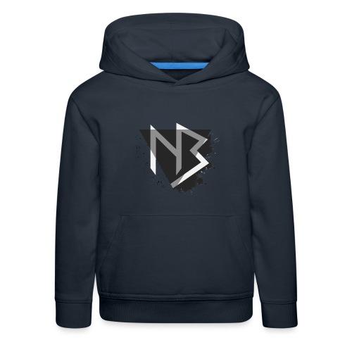 T-shirt NiKyBoX - Felpa con cappuccio Premium per bambini