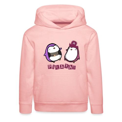 PINGUINOSPIRATAS - Sudadera con capucha premium niño