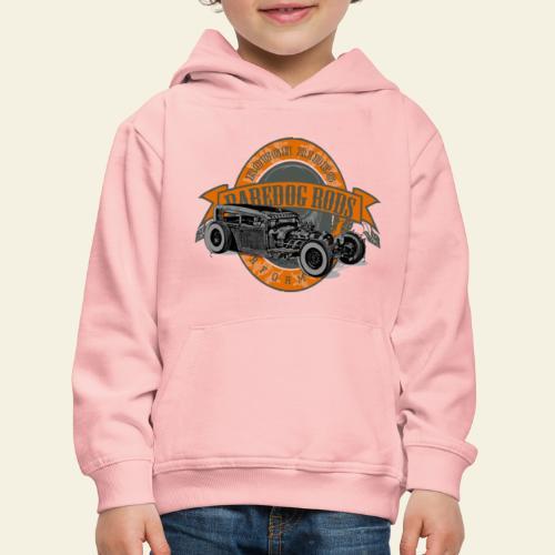 Raredog Rods Logo - Premium hættetrøje til børn