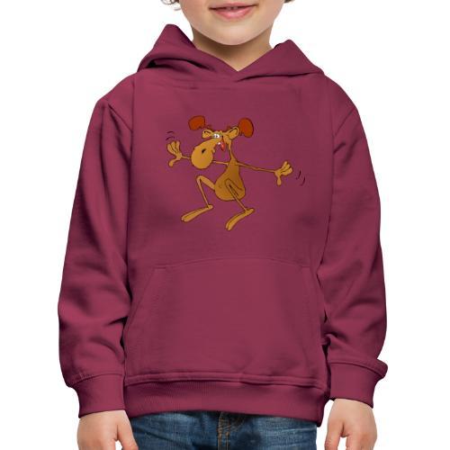 elch huepft - Kinder Premium Hoodie