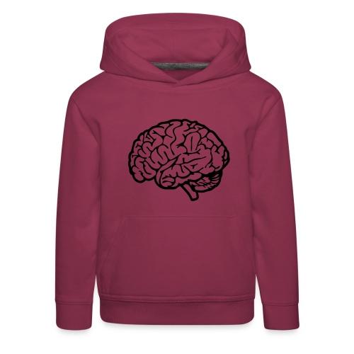 cerveau - Pull à capuche Premium Enfant