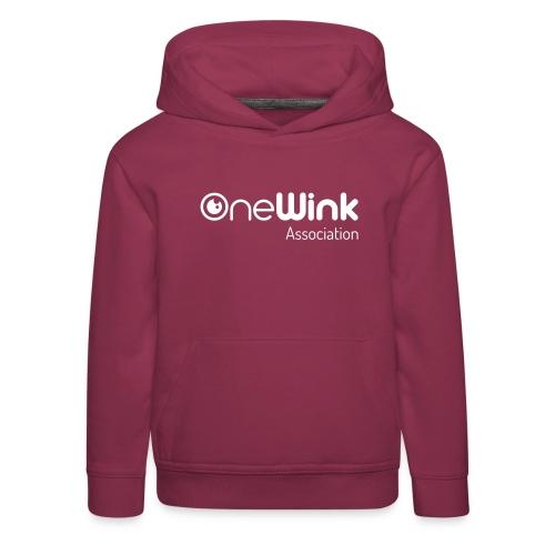 OneWink Association - Pull à capuche Premium Enfant