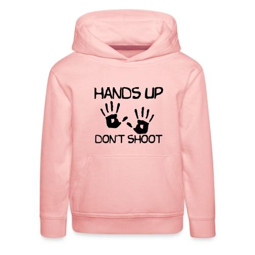 Hands Up Don't Shoot (Black Lives Matter) - Kinderen trui Premium met capuchon