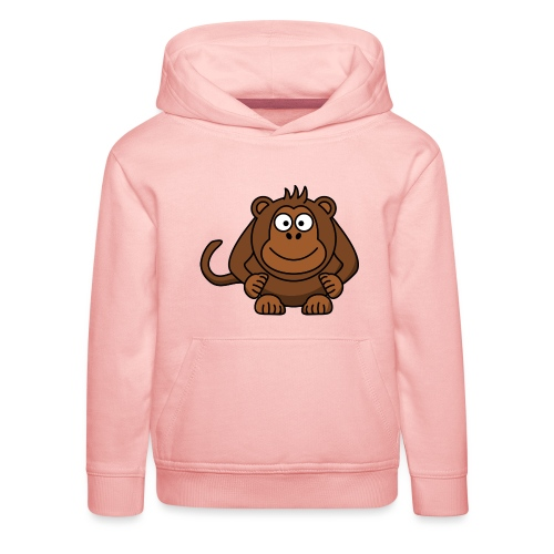 Monkey t-shirt - Premium hættetrøje til børn