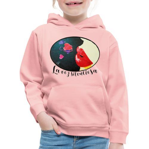 La Voz Silenciosa - Besos - Sudadera con capucha premium niño