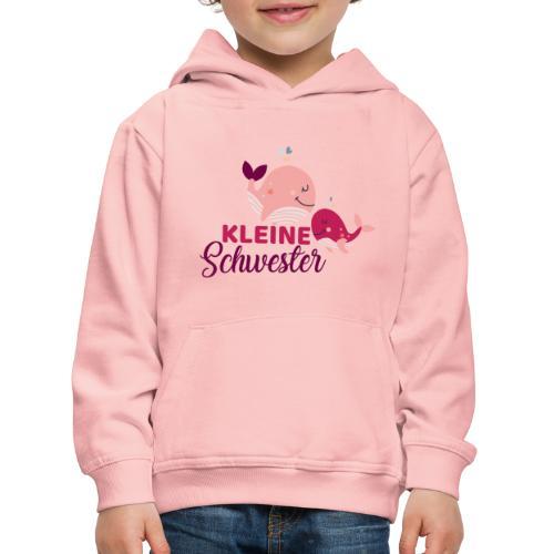 Wale - kleine Schwester - Kinder Premium Hoodie