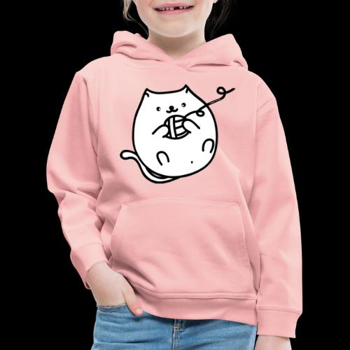 classic fat cat - Kinder Premium Hoodie