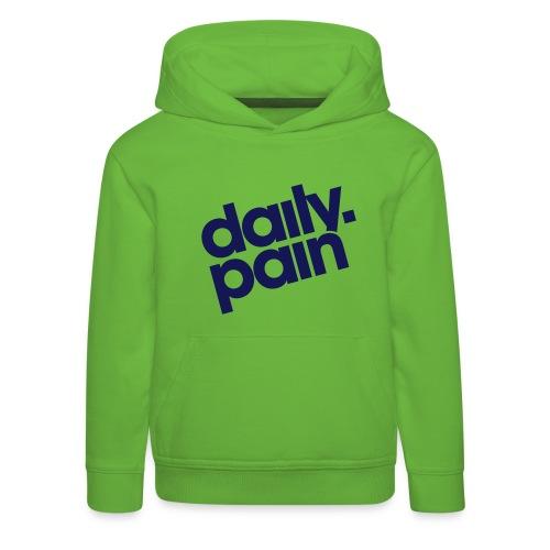 daily pain classic - Bluza dziecięca z kapturem Premium