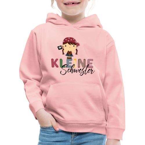 Kleine Schwester Pirat - Kinder Premium Hoodie