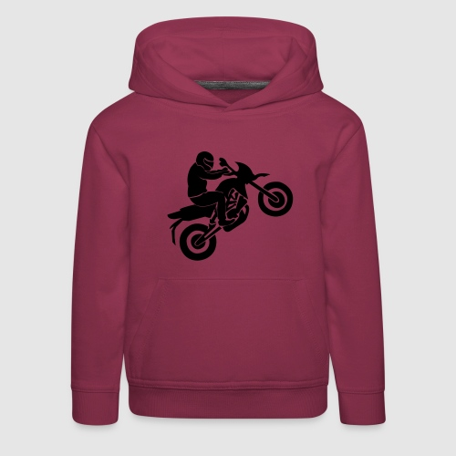 Motorradfahrer - Kinder Premium Hoodie