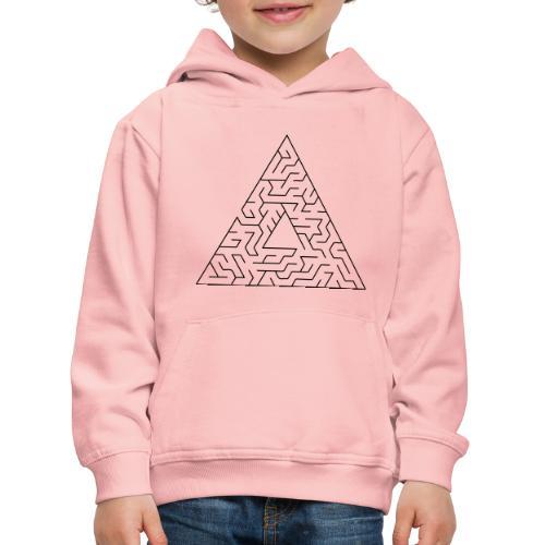 Triangle Maze - Kids' Premium Hoodie
