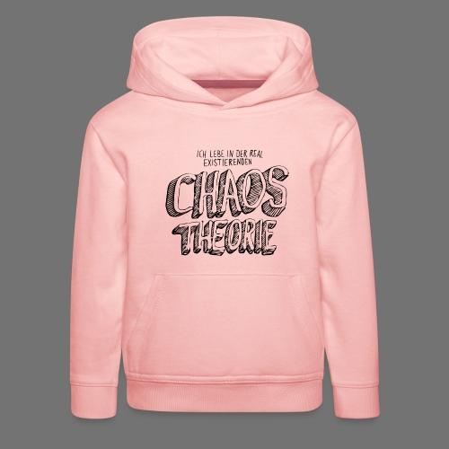 Chaostheorie (schwarz) - Kinder Premium Hoodie
