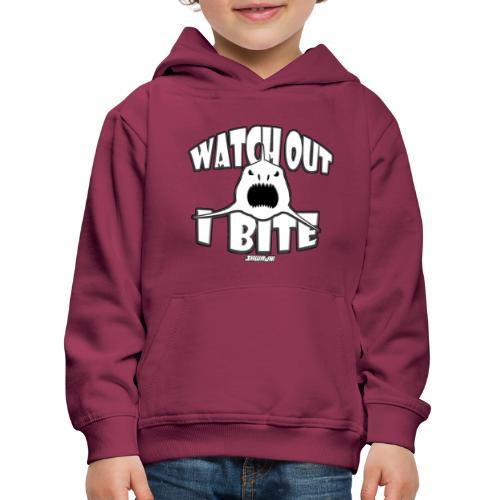 Watch out I bite - Kinderen trui Premium met capuchon