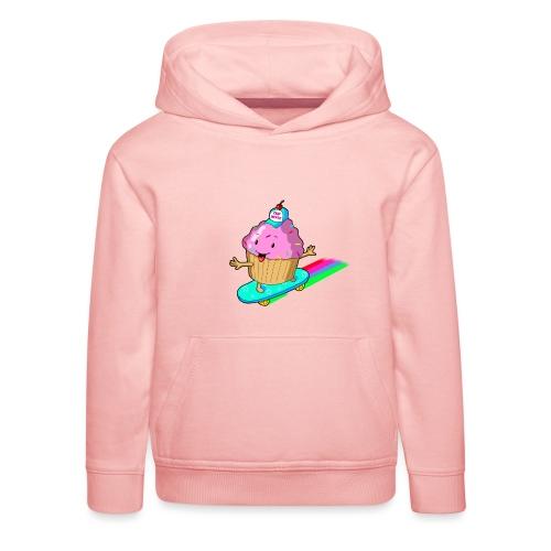 cupskate - Pull à capuche Premium Enfant