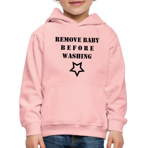 removebaby - Kinderen trui Premium met capuchon