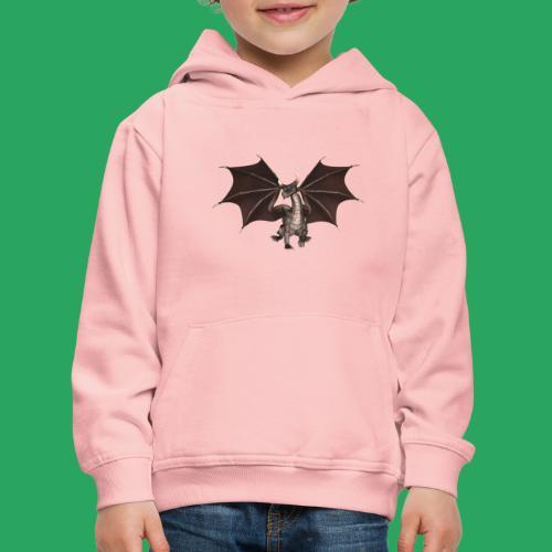 dragon logo color - Felpa con cappuccio Premium per bambini