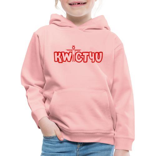 logo - Kinderen trui Premium met capuchon