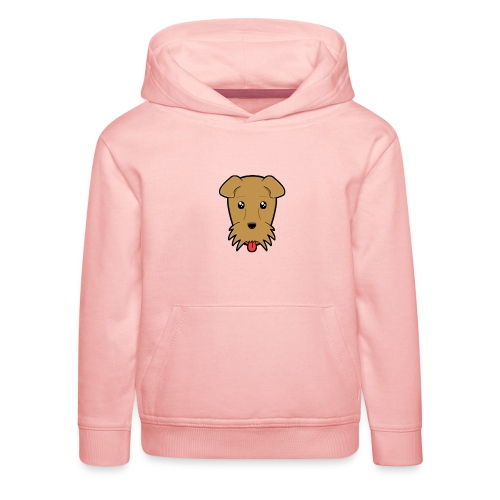 Shari the Airedale Terrier - Kids' Premium Hoodie