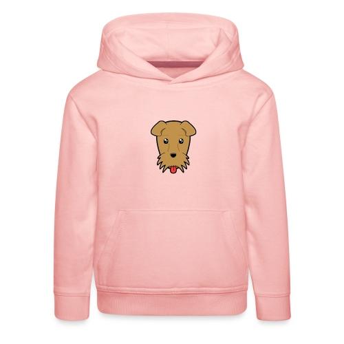 Shari the Airedale Terrier - Kids' Premium Hoodie