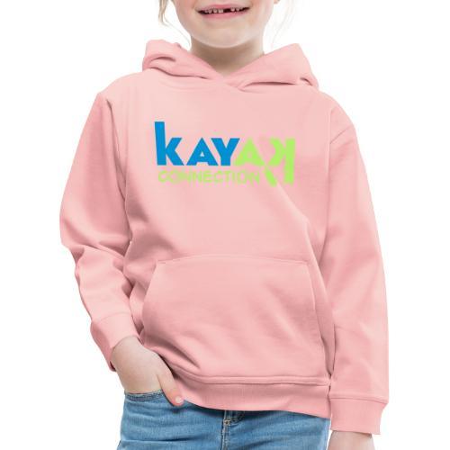logo kajakconnection 300d - Kinder Premium Hoodie