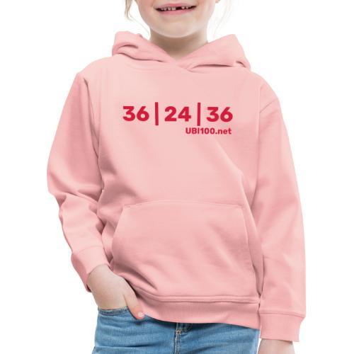 36   24   36 - UBI - Kids' Premium Hoodie
