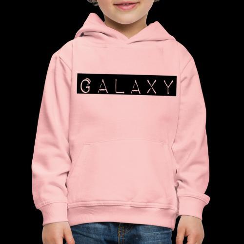 GALAXY png avant - Kids' Premium Hoodie