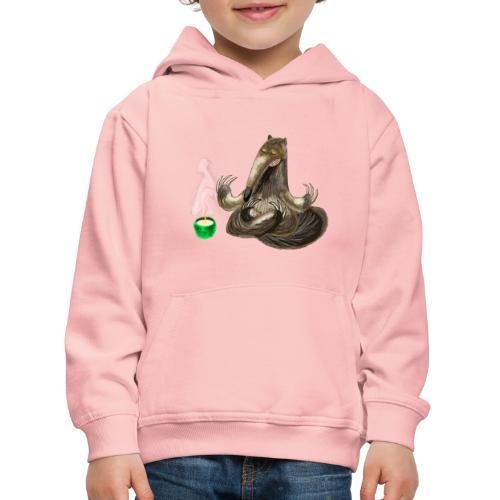 Meditating Ant eater design / print - Kids' Premium Hoodie
