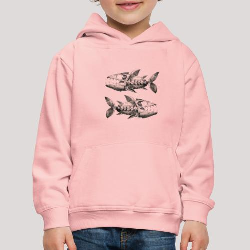 FishEtching - Kids' Premium Hoodie
