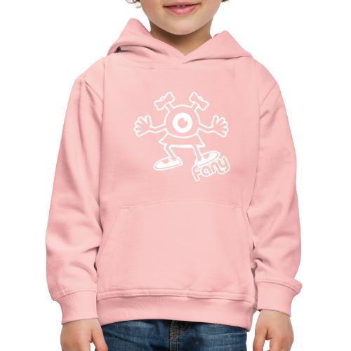 Fany Full (White) - Pull à capuche Premium Enfant