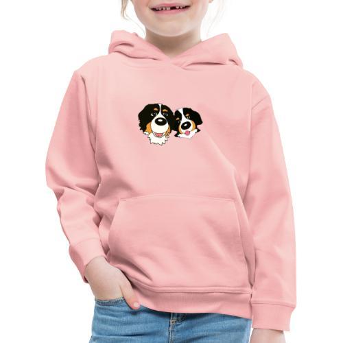 hane och hona - Premium-Luvtröja barn