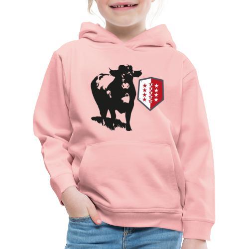 Vache - Cow - Kinder Premium Hoodie