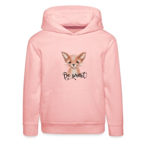 Fox Fuchs be smart - Kinder Premium Hoodie
